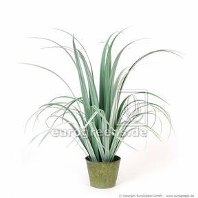 Erba artificiale Bahienka in vaso decorativo 80 cm