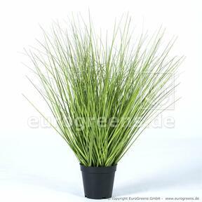 Fascio d'erba artificiale in un vaso di fiori 65 cm