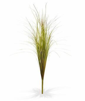 Fascio d'erba artificiale per scanalature verde-marrone 80 cm