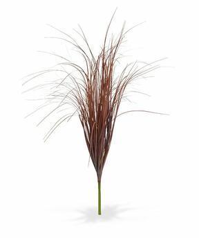 Fascio di erba bordeaux per scanalature artificiali 80 cm