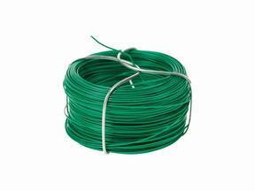 Filo legante per siepe artificiale, plastificato verde 1,2 mm - bobina 25 m
