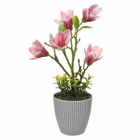Magnolia artificiale in vaso 21 cm