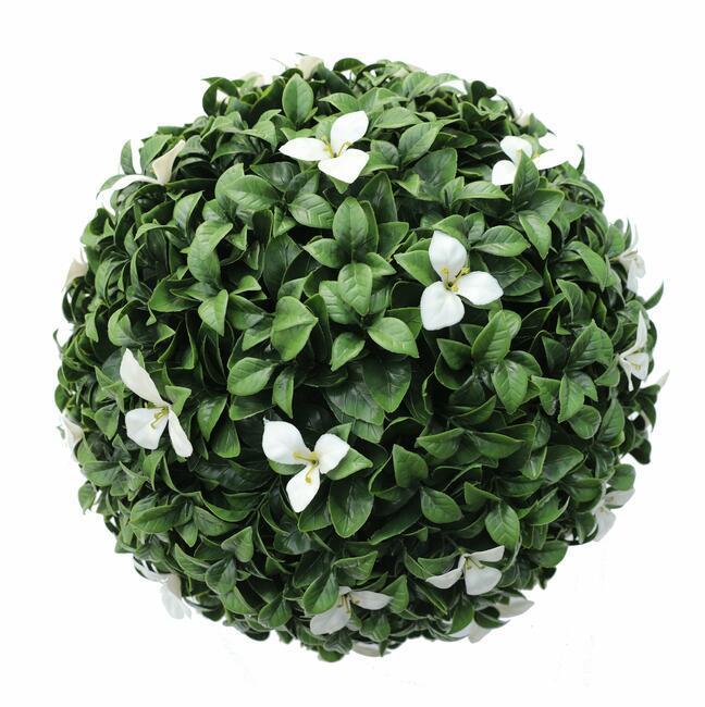 Pallone artificiale Gradenia bianco 45 cm