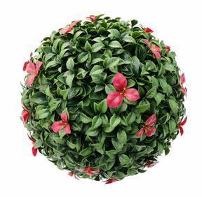 Pallone artificiale Gradenia rosso 45 cm