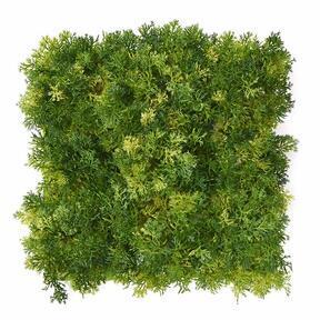 Pannello di muschio artificiale verde chiaro - 25x25 cm