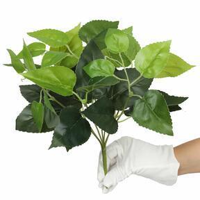Pianta artificiale Basilico verde 25 cm