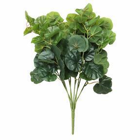 Pianta artificiale Begonia 45 cm