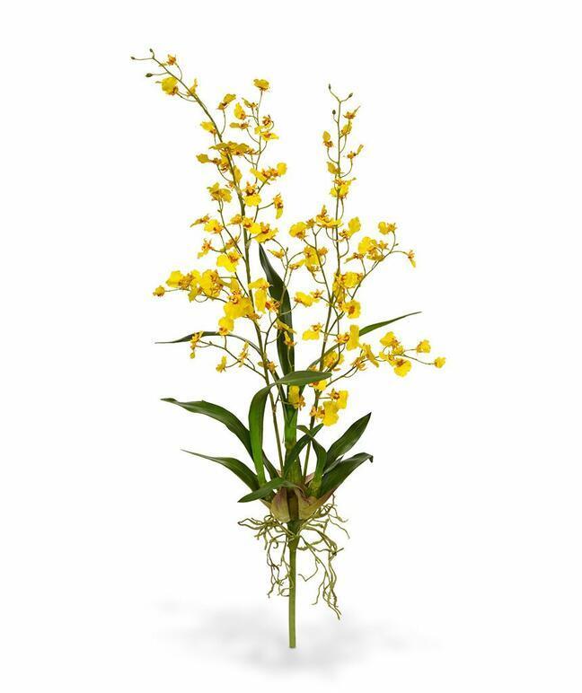 Pianta artificiale Orchidea Oncídium 80 cm