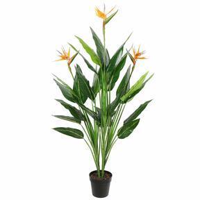 Pianta artificiale Tiro in fiore 150 cm