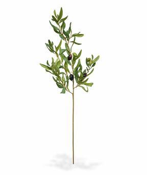 Ramo artificiale Olivo con olive 85 cm