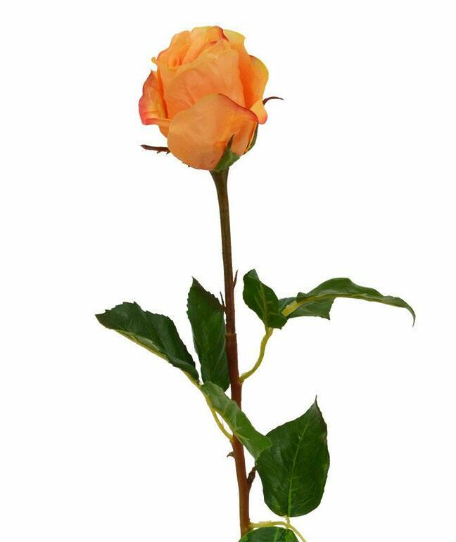 Ramo artificiale Rosa arancione 52 cm