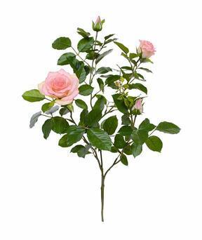 Ramo artificiale Rosa rosa 70 cm
