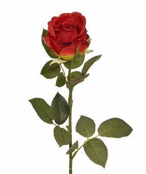 Ramo artificiale Rosa rossa 74 cm
